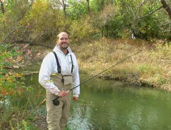Fishing in wichita kansas for Trout fishing in kansas